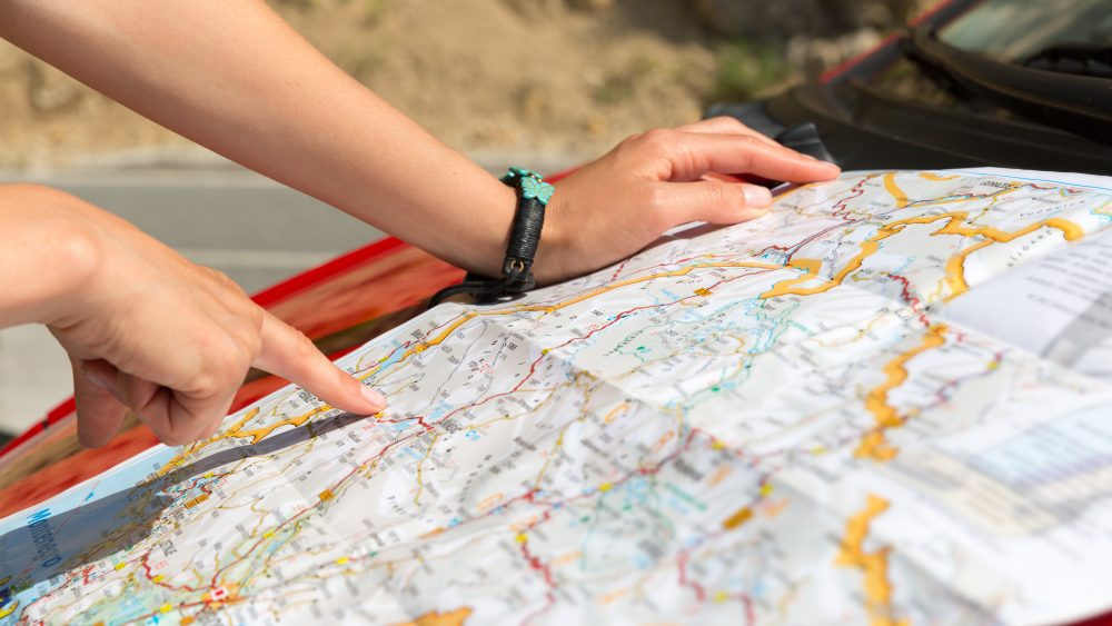 The paper map revival: Why people are choosing paper maps over satellite navigation?