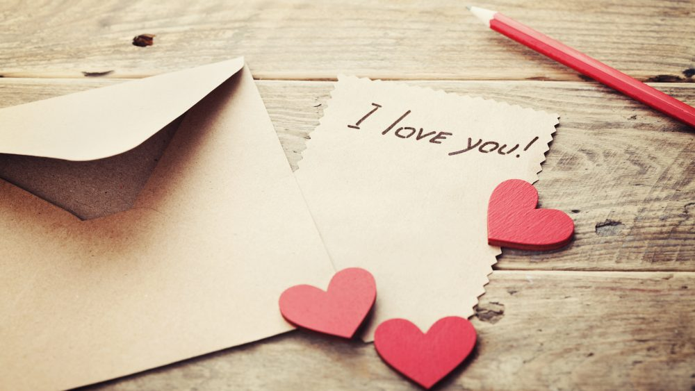 Love Notes – Saying it with paper