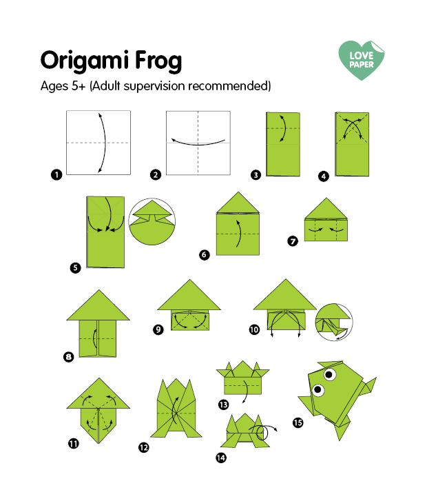 origami-frog