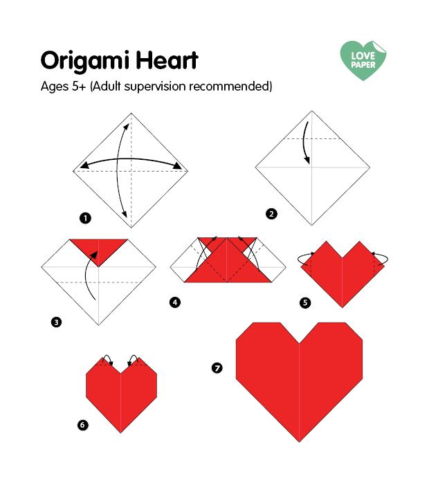 origami-heart