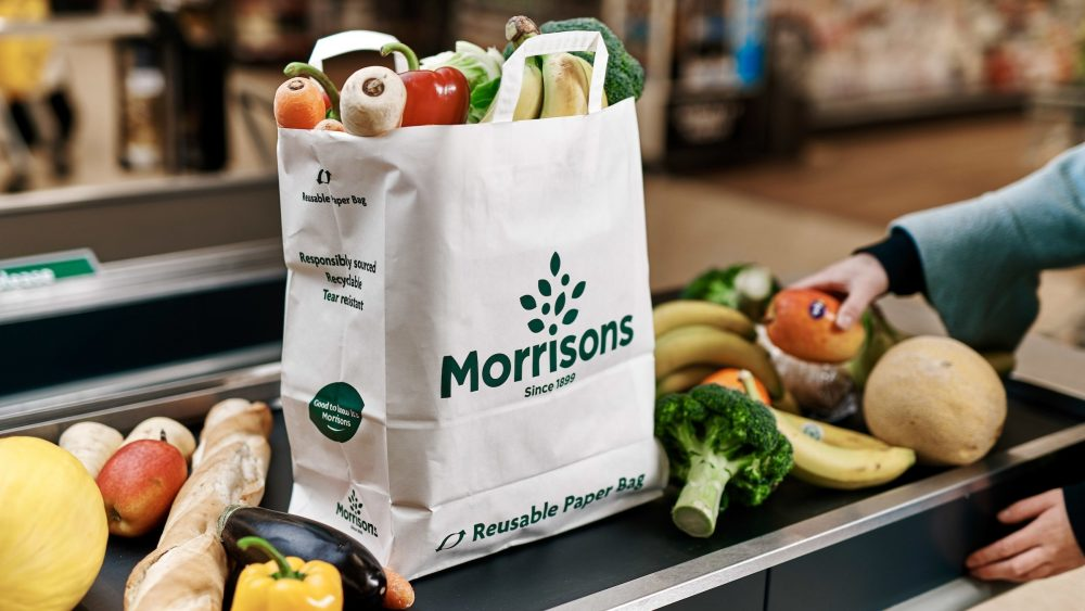 Morrisons consider ditching plastic bags in favour for paper bags