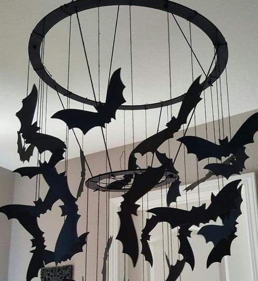 hanging-paper-bats