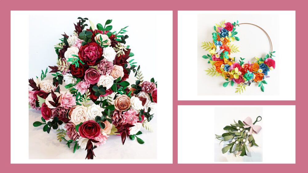 The World of Paper Flower Bouquets