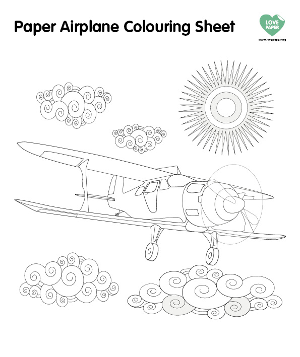 Paper Plane Couring Sheet (1)