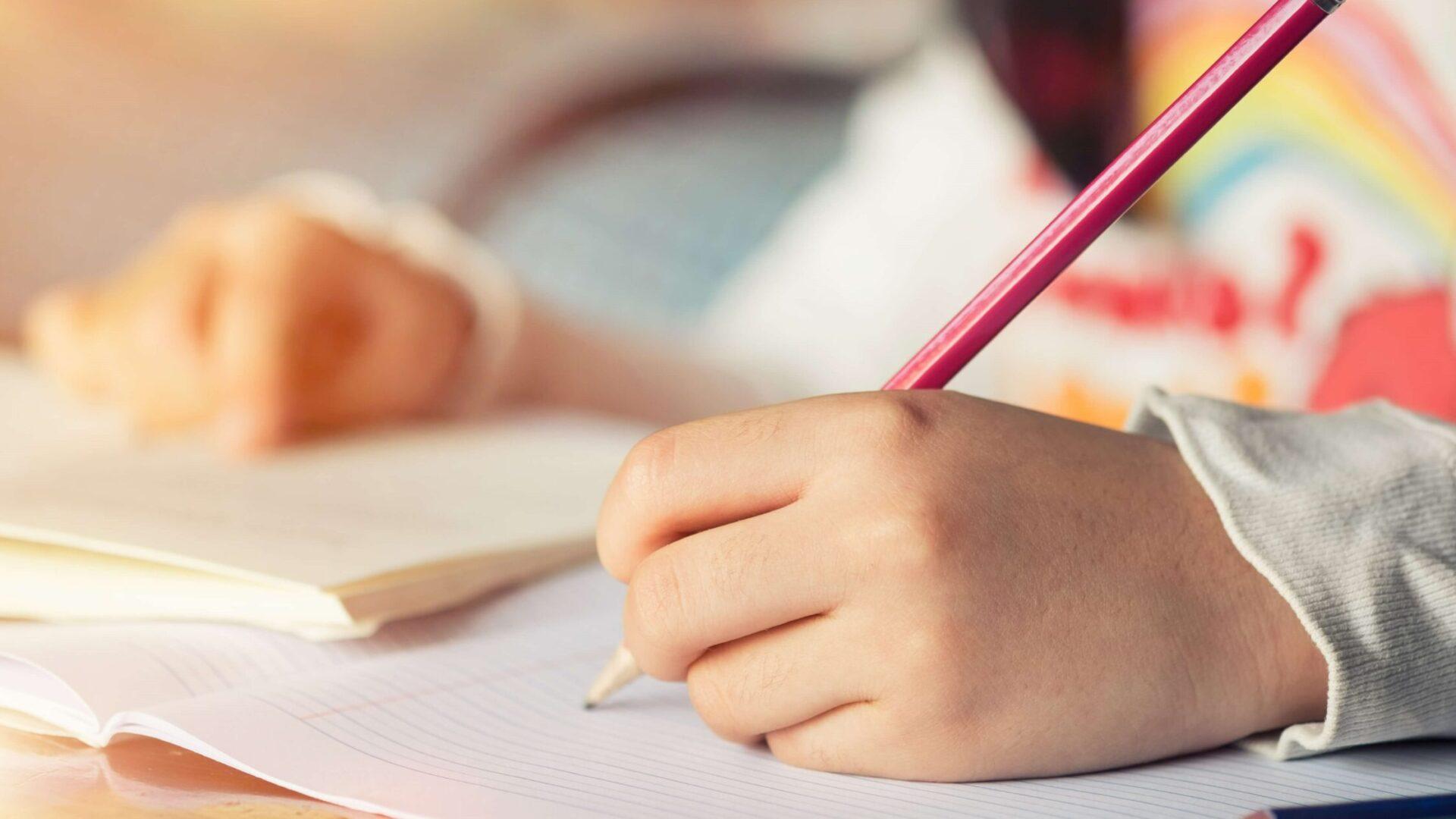 writing-child